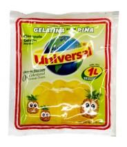 BANQUINHA - Gelatina sabor PIÑA (Abacaxi) 75g - UNIVERSAL