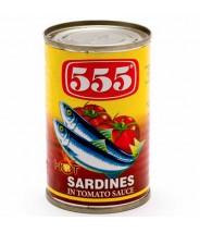555 Sardines Red 155g