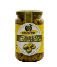 Maçarico - Azeitonas Verdes em Rodelas 345g