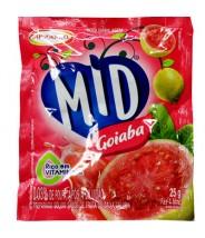 Mid Suco em Pó sabor Goiaba 25g