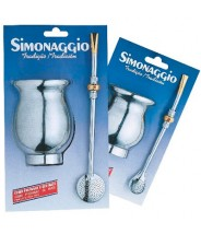 SIMONAGGIO Conjunto Para Chimarrao(Juego Para Mate)Tea Set