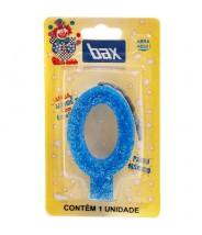 Vela Azul Pavio Mágico N°0 Bax
