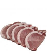 Bisteca de Porco sem osso Fatiado 1kg COD.172