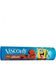 Biscoito V Recheado Sabor Chocolate 125g - VISCONTI
