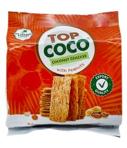 Coconut Ckacker w/ Peanuts 150g Top Coco