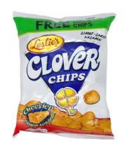 Clover Chips Cheesier 60g Leslie´s