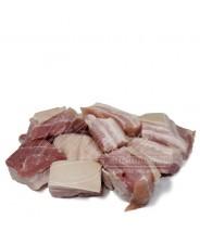 Costela de Porco (( Com Couro)) *Sem Osso em Cubos 1kg COD.183