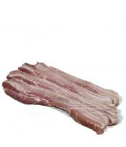 Costela de Porco ((com Couro))  sem Osso Fatiado 1kg COD. 184