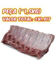 Costelinha de Porco Americana Peça - Peso entre +- 1,5kg COD.205