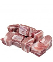 Costela de Porco (( Com Osso))  em Cubos 1kg COD.177