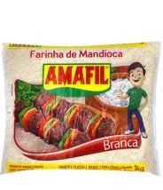 Farinha de Mandioca Branca 1kg Amafil