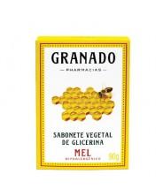 GRANADO - BARRA - Sabonete Vegetal de Glicerina MEL 90g