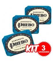 (Kit 3 Unidades) Sabonete Phebo Frescor da Manhã 90g