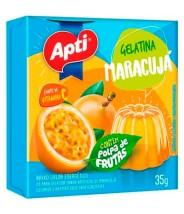 Apti Gelatina de Maracujá 35g