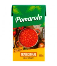 Molho de Tomate - Pomarola ( Caixa ) tradicional 260g